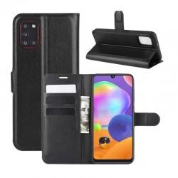 Knížkové pouzdro s poutkem pro Huawei Y5p - Černá