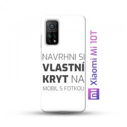 Xiaomi Mi 10T kryt s vlastní fotkou