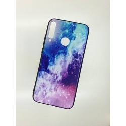 Silikonový obal s potiskem na Samsung Galaxy A20s - Vesmír