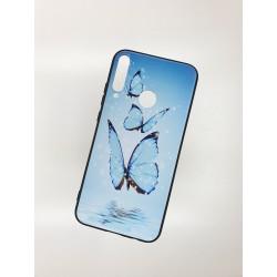 Silikonový obal s potiskem na Samsung Galaxy A20s - Motýli