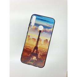 Silikonový obal s potiskem na Samsung Galaxy A20s - Paříž