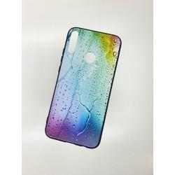 Silikonový obal s potiskem na Samsung Galaxy A20s - Kapky
