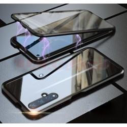 Magnetický kryt  360° s tvrzenými skly na Huawei Nova 5T