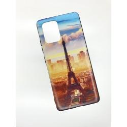 Silikonový obal na Samsung Galaxy M51 s potiskem - Paříž