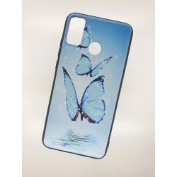 Silikonový obal na Samsung Galaxy A21s s potiskem - Motýli