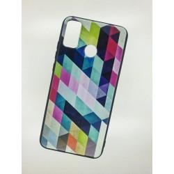 Silikonový obal na Samsung Galaxy A21s s potiskem - Colormix