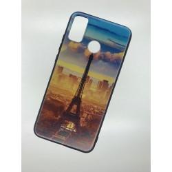 Silikonový obal na Samsung Galaxy M21 s potiskem - Paříž
