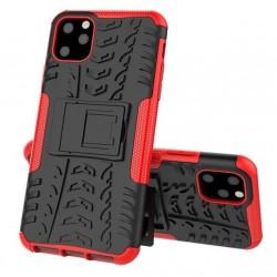 Odolný obal pro iPhone 12   Armor case - Červená