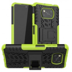 Odolný obal na Xiaomi POCO X3 | Armor case - Zelená