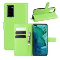 Knížkové pouzdro s poutkem pro iPhone 12 Pro - Zelená