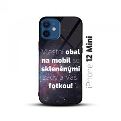Obal s vlastní fotkou a skleněnými zády na mobil iPhone 12 Mini
