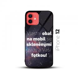 Obal s vlastní fotkou a skleněnými zády na mobil iPhone 12