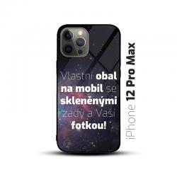 Obal s vlastní fotkou a skleněnými zády na mobil iPhone 12 Pro Max