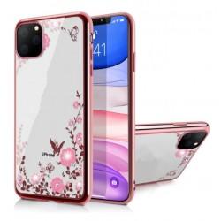 Silikonový obal se vzorem a rámečkem pro iPhone 12 Pro Max