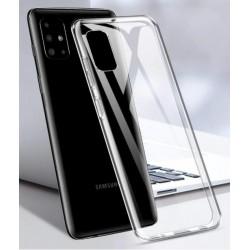 Samsung Galaxy M51 silikonový průhledný obal