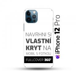 Vlastní kryt na iPhone 12 Pro | Fullcover 360°