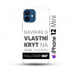 Vlastní kryt na iPhone 12 Mini| Fullcover 360°