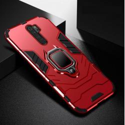 Odolný kryt na Xiaomi Redmi 9 | Panzer case - Červená