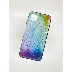 Silikonový obal na Samsung Galaxy A42 5G s potiskem - Kapky
