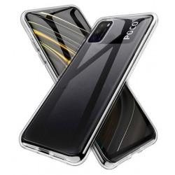 Silikonový průhledný obal na Xiaomi POCO M3