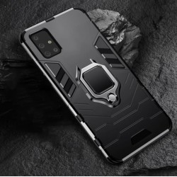 Odolný kryt na Samsung Galaxy A02s | Panzer case - Černá