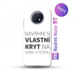 Redmi Note 9T kryt s vlastní fotkou
