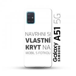Samsung Galaxy A51 5G kryt s vlastní fotkou