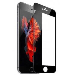 Tvrzené ochranné sklo s černým rámečkem na mobil iPhone 7