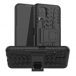 Odolný obal na Samsung Galaxy A12   Armor case - Černá