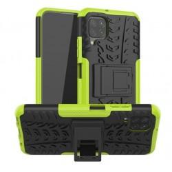 Odolný obal na Samsung Galaxy A12   Armor case - Zelená
