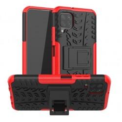 Odolný obal na Samsung Galaxy A12   Armor case - Červená