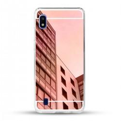 Zrcadlový TPU obal na Xiaomi Redmi 9A - Růžová