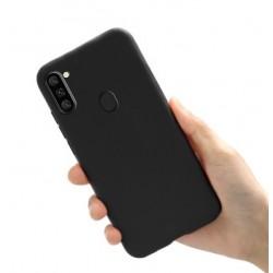 Liquid silikonový obal na Samsung Galaxy M11 | Eco-Friendly - Černá