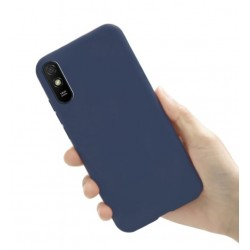 Liquid silikonový obal na Xiaomi Redmi 9A | Eco-Friendly - Modrá
