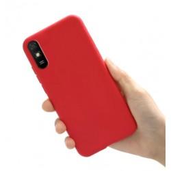 Liquid silikonový obal na Xiaomi Redmi 9A | Eco-Friendly - Červená