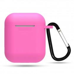 AirDots silikonový obal - Růžová