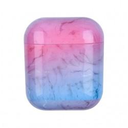 AirDots pevný obal s dekorem mramoru - Růžová
