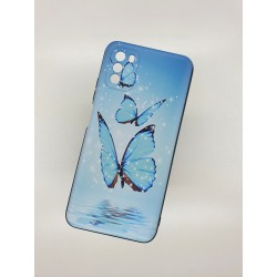 Silikonový obal na Samsung Galaxy A12 s potiskem - Motýli