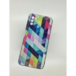 Silikonový obal na Samsung Galaxy A12 s potiskem - Colormix