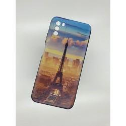 Silikonový obal na Samsung Galaxy A12 s potiskem - Paříž