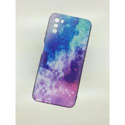 Silikonový obal na Samsung Galaxy A12 s potiskem - Vesmír