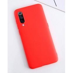 Liquid silikonový obal na Samsung Galaxy A20s | Eco-Friendly - Červená
