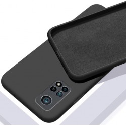 Liquid silikonový obal na Xiaomi Mi 10T | Eco-Friendly - Černá