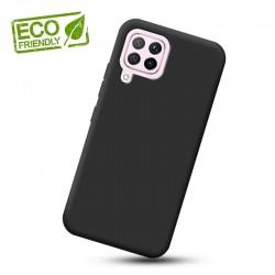 Liquid silikonový obal na Samsung Galaxy A12   Eco-Friendly - Černá