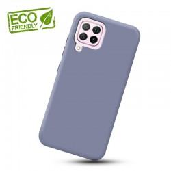 Liquid silikonový obal na Samsung Galaxy A12   Eco-Friendly - Modrá
