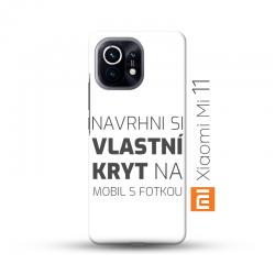 Xiaomi Mi 11 kryt s vlastní fotkou