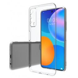 Huawei P Smart 2021 silikonový obal Průhledný