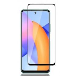 Tvrzené ochranné sklo s černými okraji na mobil Huawei P Smart 2021