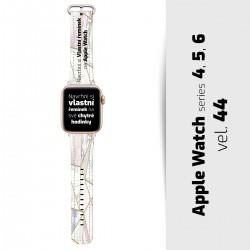 Vlastní řemínek vel. 44 pro Apple Watch 4, 5, 6, SE