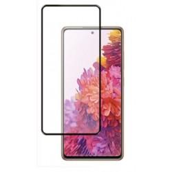 Tvrzené ochranné sklo s černými okraji na mobil Samsung Galaxy S20 FE 5G